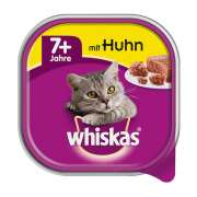 Taza Senior 7+ con Pollo 100 g de Whiskas