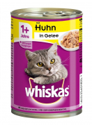 Whiskas 1+ mit Huhn in Gelee 400 g