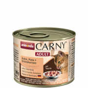 Carny Adult with Chicken, Turkey and Duckheart 200 g van Animonda