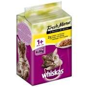 Whiskas 1+ Fresh Menue in Sauce with Chicken & Turkey & Poultry Art.-Nr.: 11426