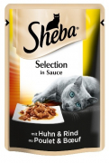 Portion Sachets Delicate Duo Chicken & Beef in Sauce 85g 85 g