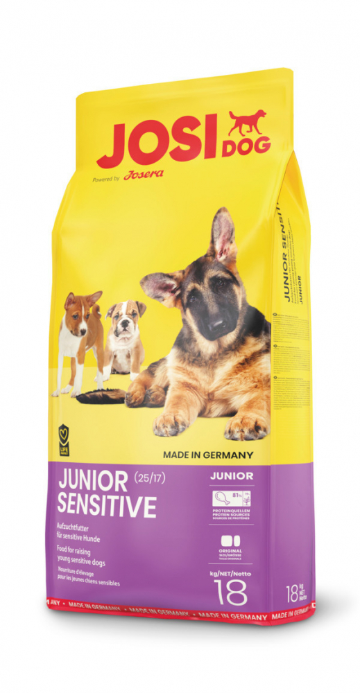 Josera JosiDog Junior Sensitive 900 g, 18 kg