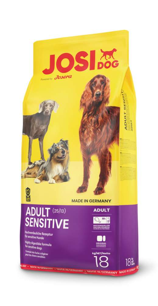 Josera JosiDog Adult Sensitive 18 kg, 900 g