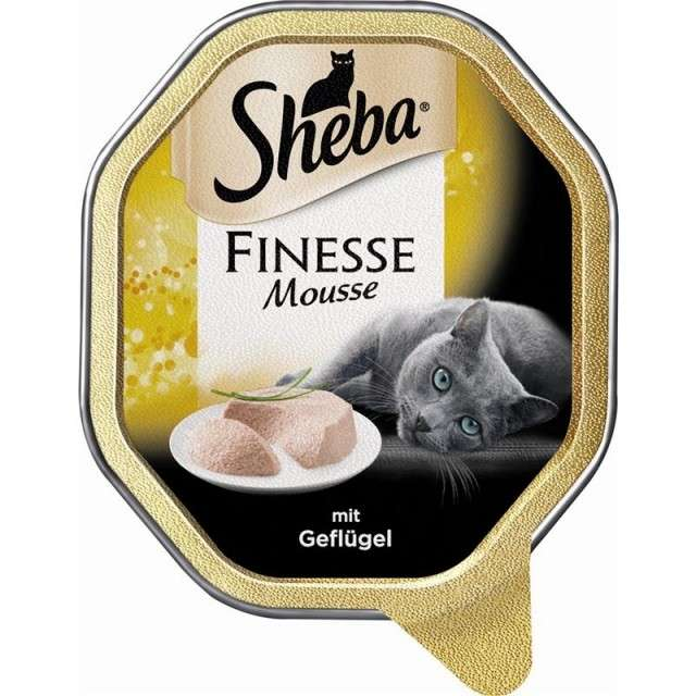 Sheba Finesse Mousse Poultry 85 g order cheap