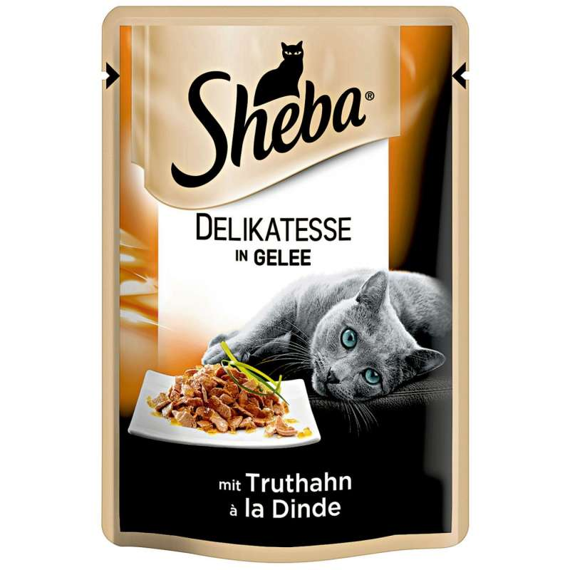 Delicacy in Jelly with Turkey by Sheba 85 g buy online