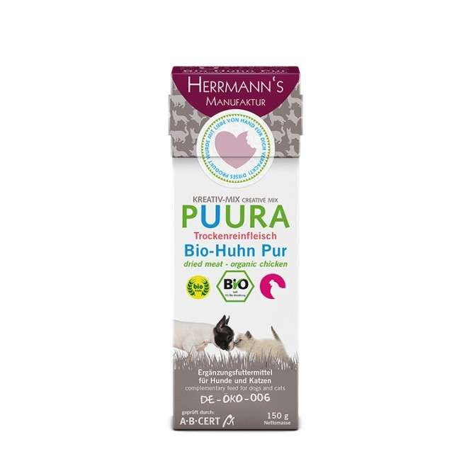 Creative Mix Puura - Organic Chicken from Herrmann's  500 g, 150 g buy online
