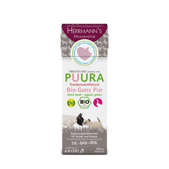Creative Mix Puura - Organic Goose Pure from Herrmann's  500 g, 150 g buy online