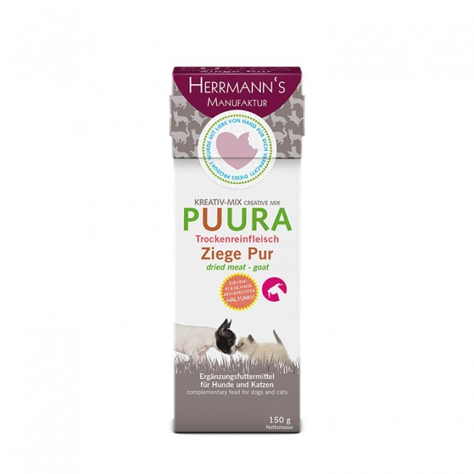 Herrmann's  Creative Mix Puura - Goat Pure 150 g 4047459008986 anmeldelser