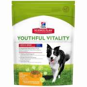 Science Plan Canine Adult 7+ Youthful Vitality Medium Breed met Kip en Rijst 750 g