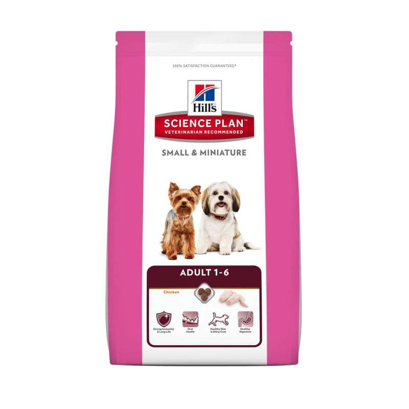 Hill's Science Plan Canine - Adult Small & Miniature 1.5 kg 0052742282107 opiniones