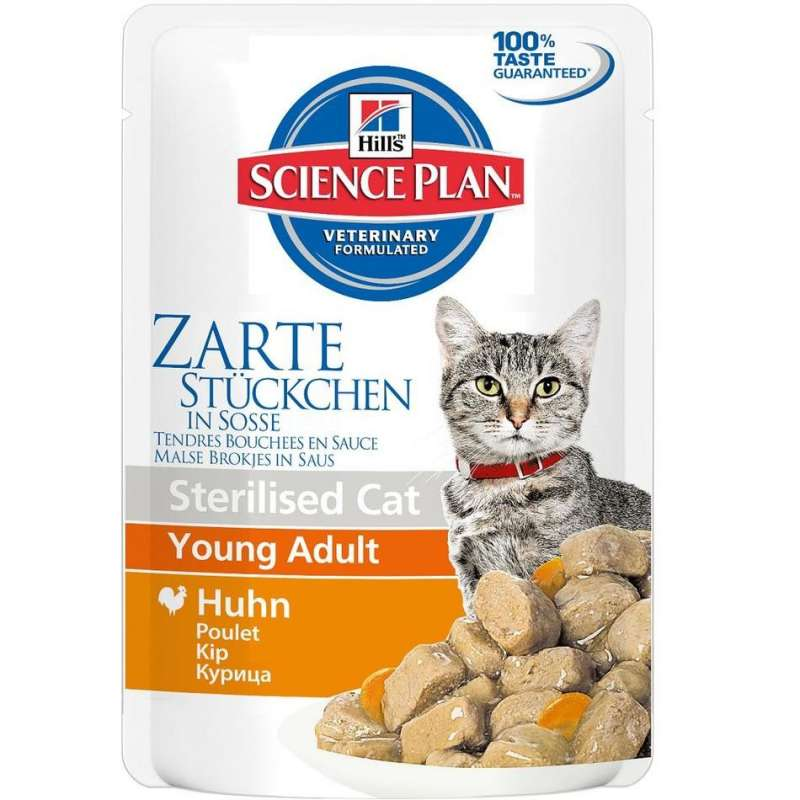 Hill's Science Plan Feline Sterilised Young Adult Kana 85 g