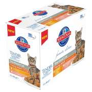 Hill's Science Plan Feline Multipack Young Adult Sterilised au Poulet et Saumon 12x85 g