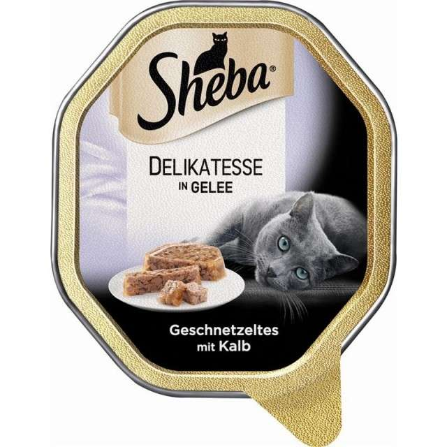 Sheba Fine Flakes in Jelly with Veal 85 g order cheap