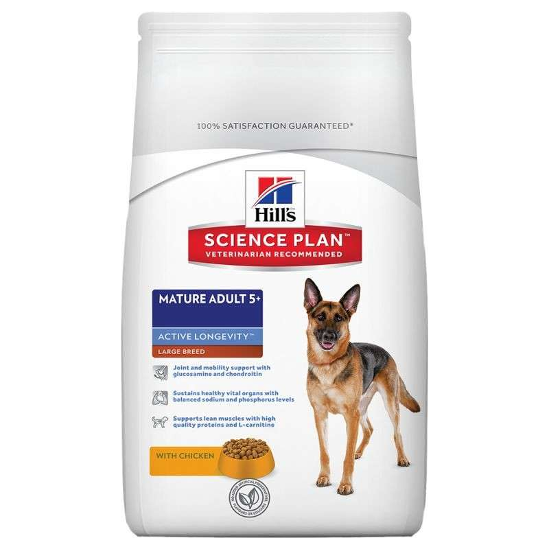 Hill's Science Plan Canine Mature Adult 5+ Active Longevity Large Breed Kip 3 kg 0052742927404