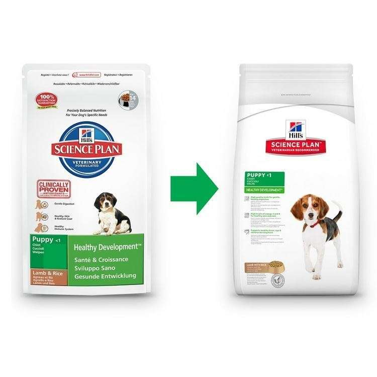 Hill's Science Plan Puppy Healthy Development met Lam & Rijst 12 kg