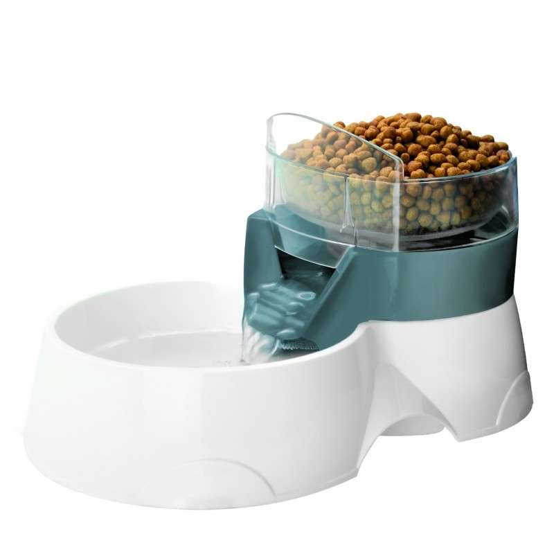 Europet-Bernina 2in1 Pet Feeder grau Grau