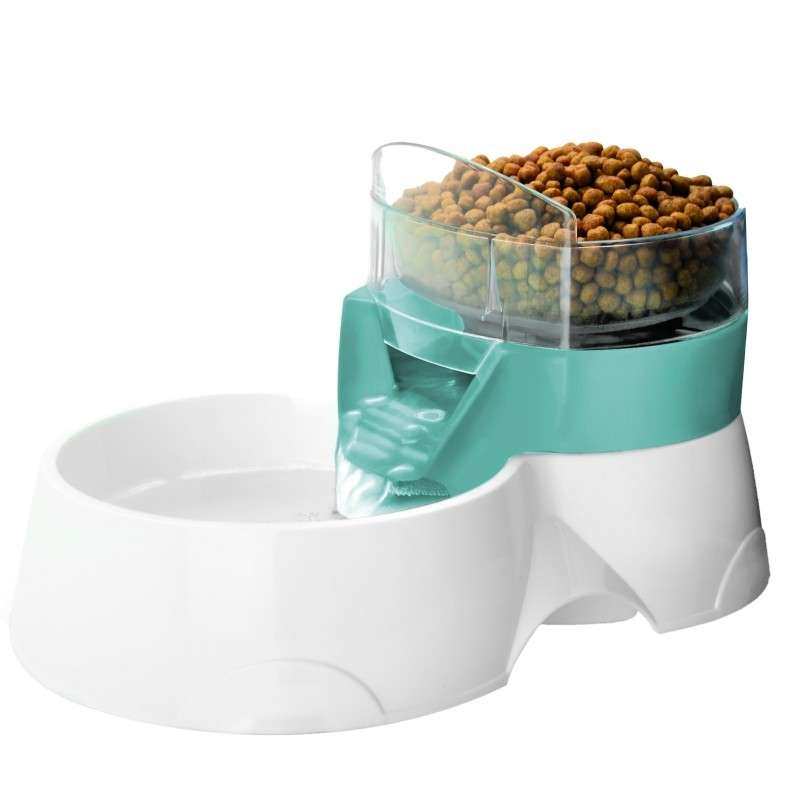 Europet-Bernina 2in1 Pet Feeder blau  Aqua