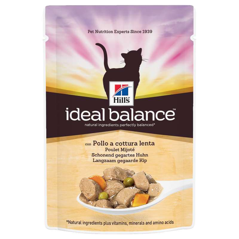 Hill's Ideal Balance Feline Adult con Pollo y Verduras 85 g