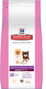 Science Plan Canine Adult Small & Miniature Sensitive Skin & Stomach mit Huhn 1.5 kg