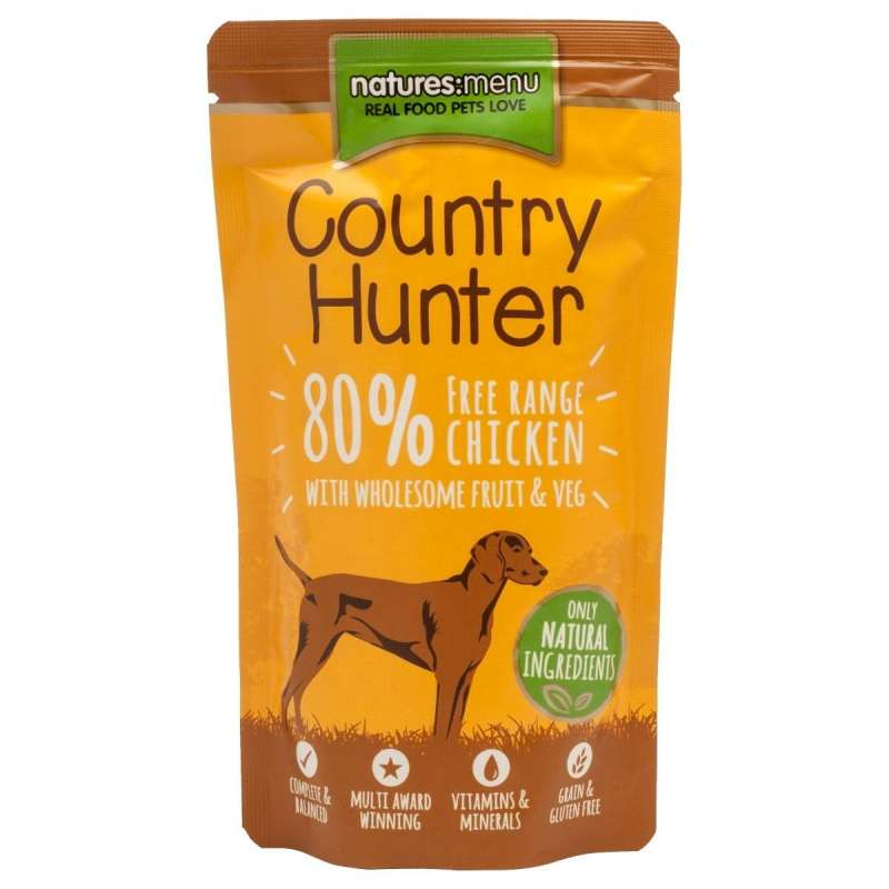 Natures Menu Country Hunter Poulet Fermier 150 g