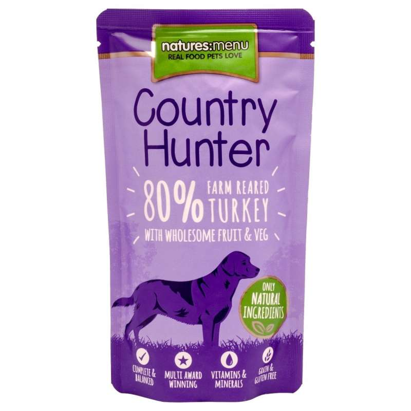 Natures Menu Country Hunter Pavo de Granja 150 g