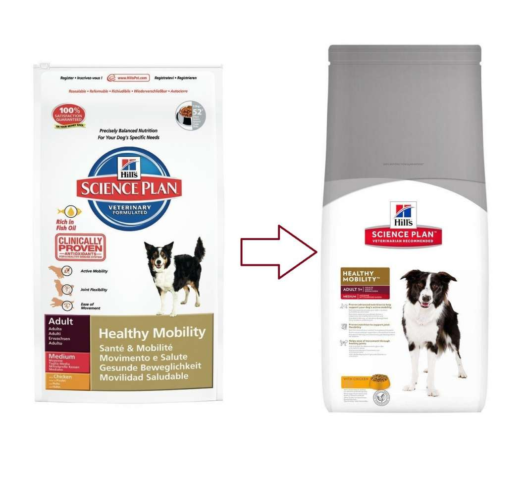 Hill's Science Plan Canine Adult Healthy Mobility Medium med Kylling 12 kg