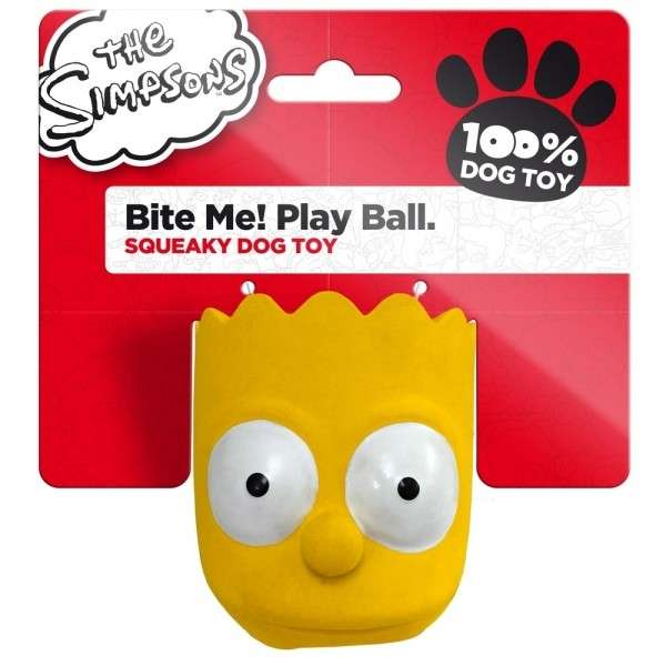 The Simpsons Latex Bite Me! Play Ball Homer