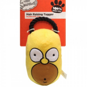 The Simpsons Homer Hair Raising Tugger Yellow
