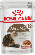 Feline Health Nutrition Ageing +12 in Gravy 85 g