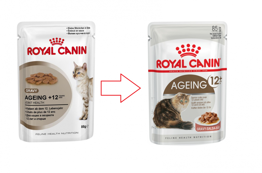 Royal Canin Feline Health Nutrition Ageing +12 in Gravy 85 g