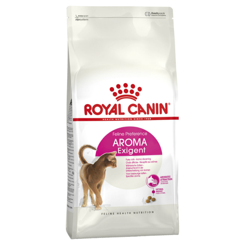 Royal Canin Feline Health Nutrition Exigent 33 Aromatic Attraction 10 kg 3182550767361 erfaringer