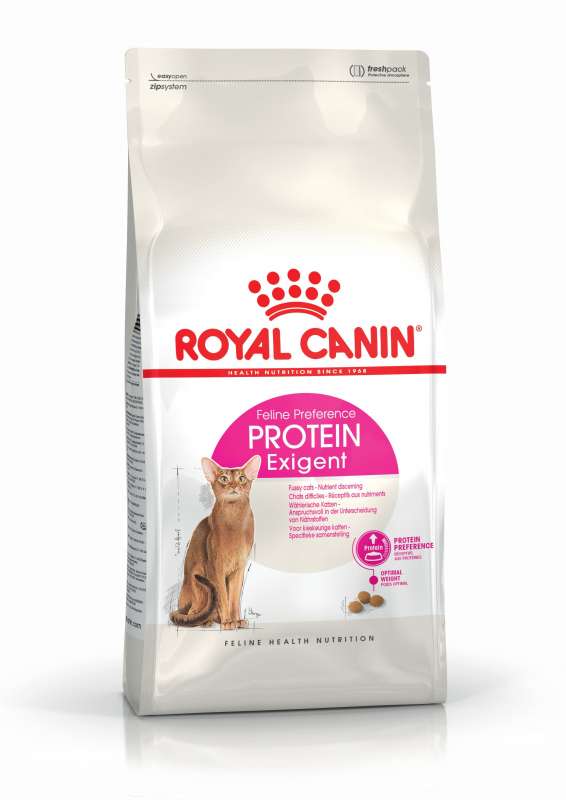 Royal Canin Feline Health Nutrition Protein Preference Exigent 42 3182550767231 kokemuksia