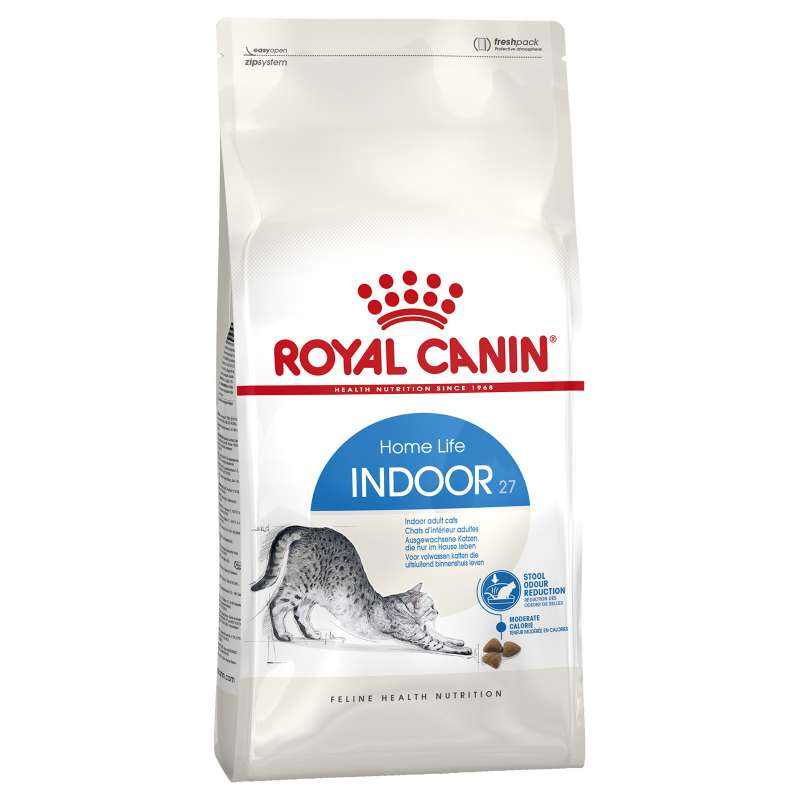 Royal Canin Feline Health Nutrition Indoor 27 10 kg, 2 kg, 4 kg, 400 g kjøp billig med rabatt