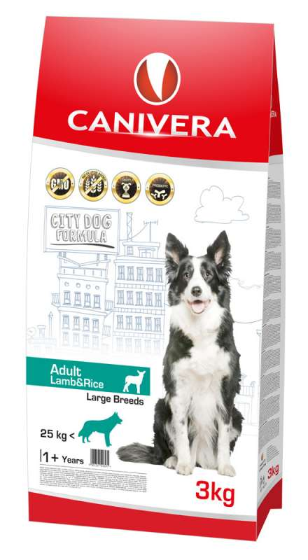 Canivera Adult Large Breed con Agnello e Riso 3 kg