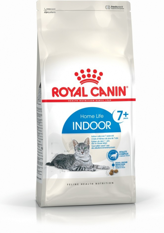 Royal Canin Feline Health Nutrition Indoor 7+ 1.5 kg, 3.5 kg, 400 g osta edullisesti