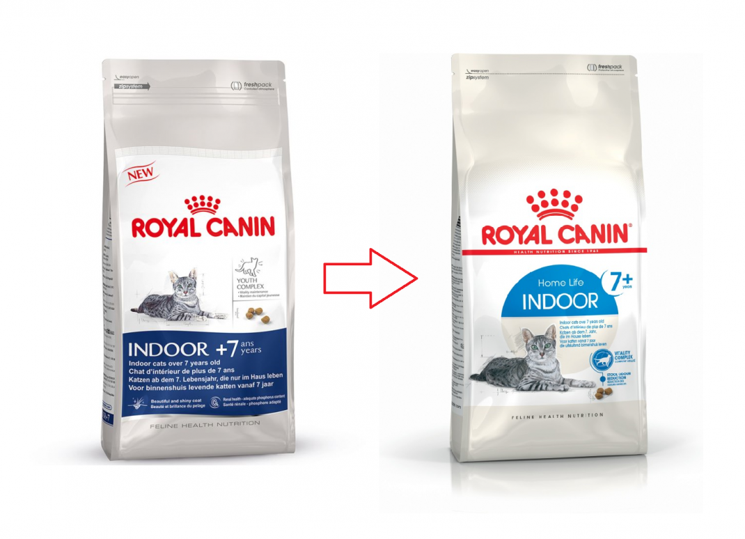 Royal Canin Feline Health Nutrition Indoor 7+ 400 g, 3.5 kg, 1.5 kg
