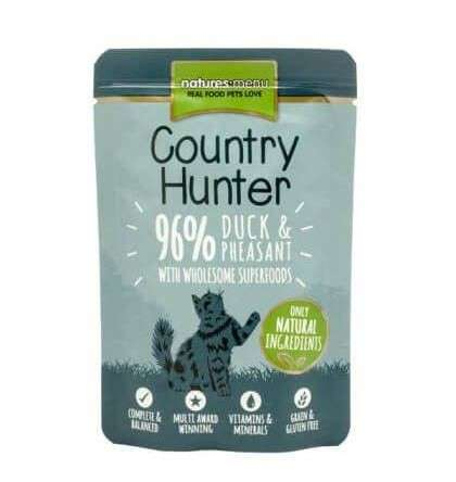 Natures Menu Country Hunter Duck & Pheasant 85 g