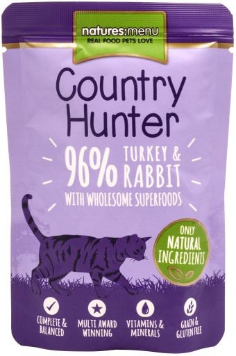 Natures Menu Country Hunter Turkey & Rabbit 85 g