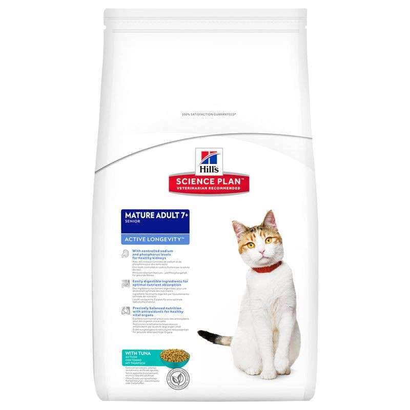 Hill's Science Plan Feline - Mature Adult 7+ Active Longevity au Thon 2 kg