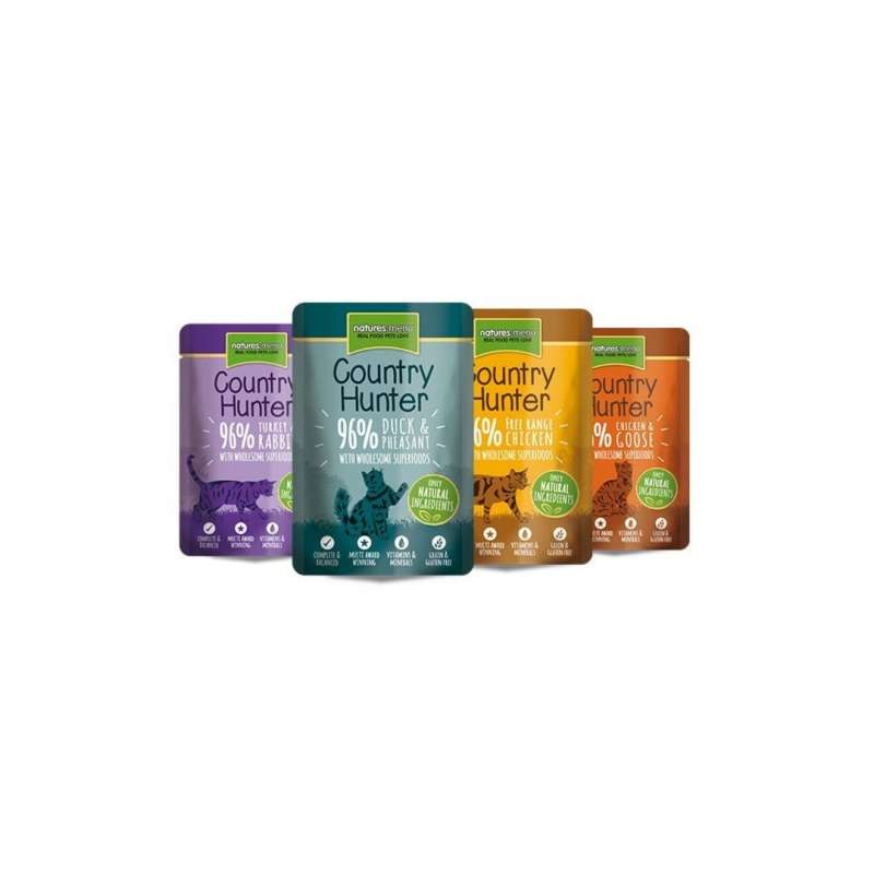 Natures Menu Country Hunter Multipack Superfood Selection 12x85 g