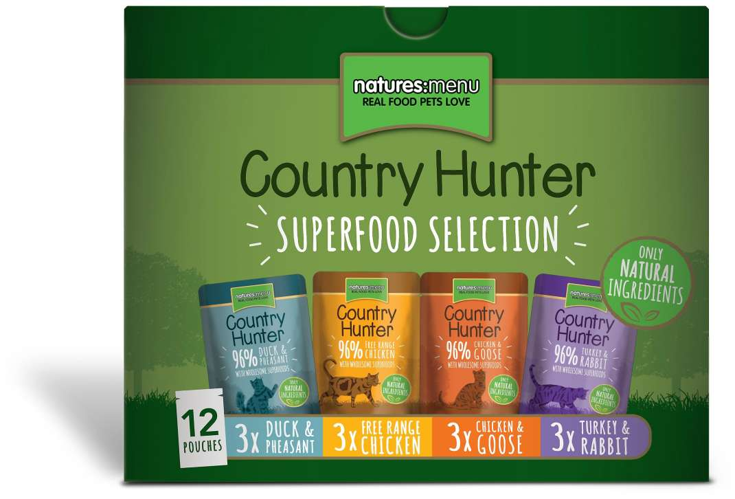 Natures Menu Country Hunter Multipack Superfood Selection 12x85 g 5027530003610 Erfahrungsberichte