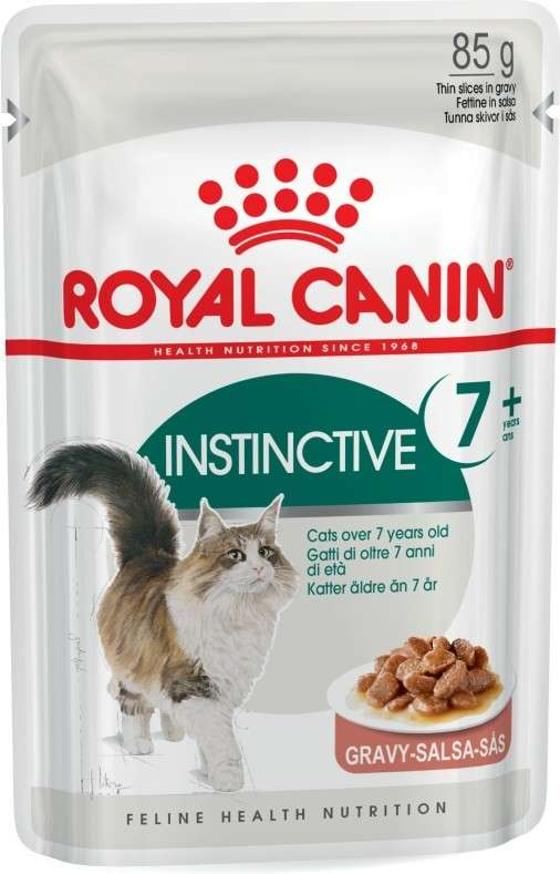 Royal Canin Feline Health Nutrition Instinctive +7 in Gravy 85 g osta edullisesti