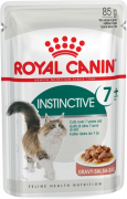 Royal Canin Feline Health Nutrition Instinctive +7 in Gravy 85 g