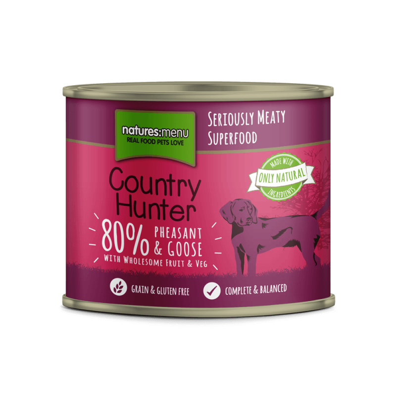 Natures Menu Country Hunter Faisán & Ganso 600 g 5027530003658 opiniones