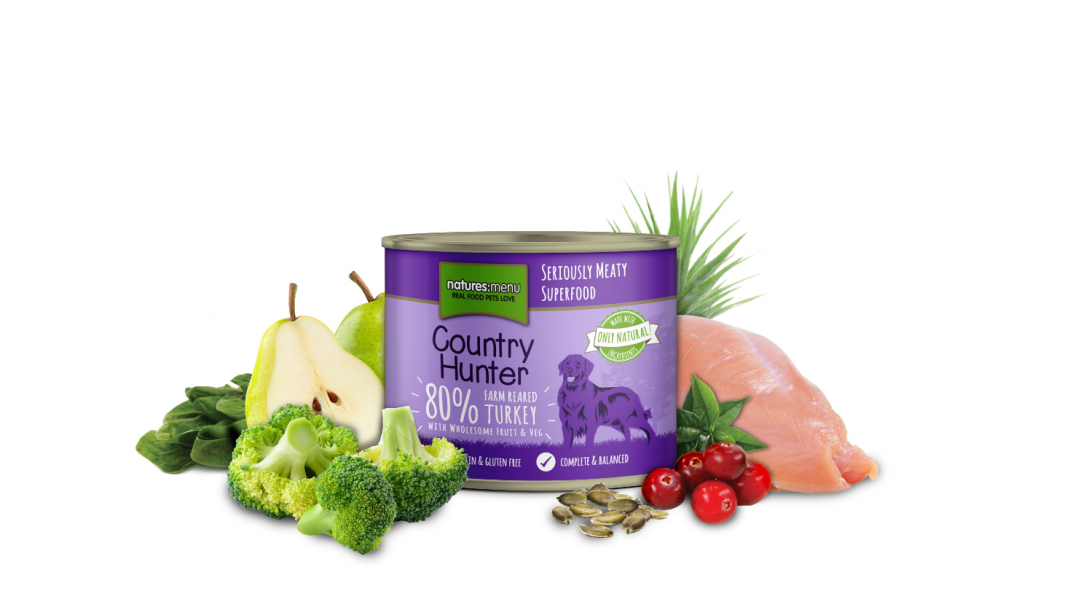Natures Menu Country Hunter Pute vom Bauernhof 600 g