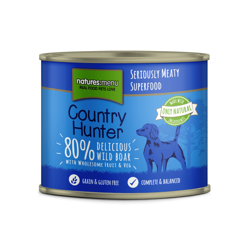 Natures Menu Country Hunter Jabalí 600 g