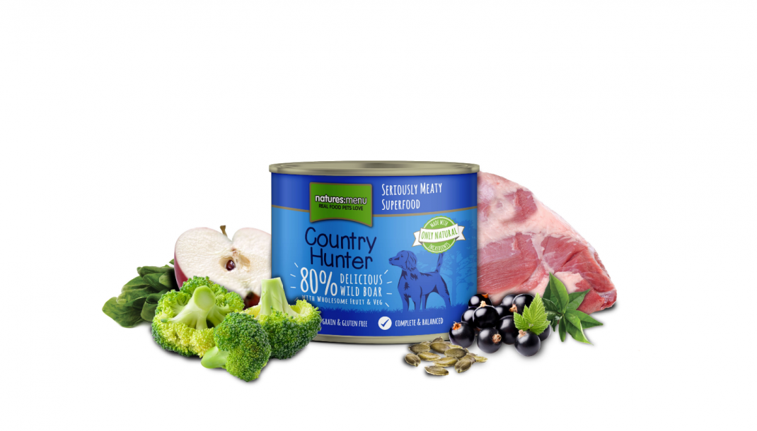 Natures Menu Country Hunter Cinghiale selvatico 600 g