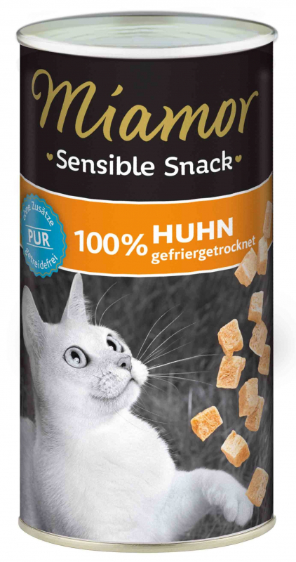 Miamor Sensible Snack Chicken Pure 30 g 4000158743312 ervaringen