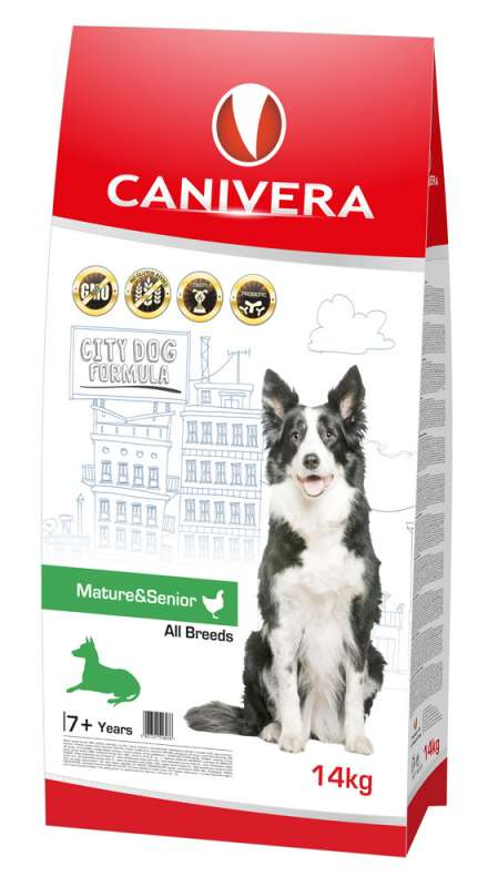 Canivera Mature & Senior All Breeds con Pollo 14 kg