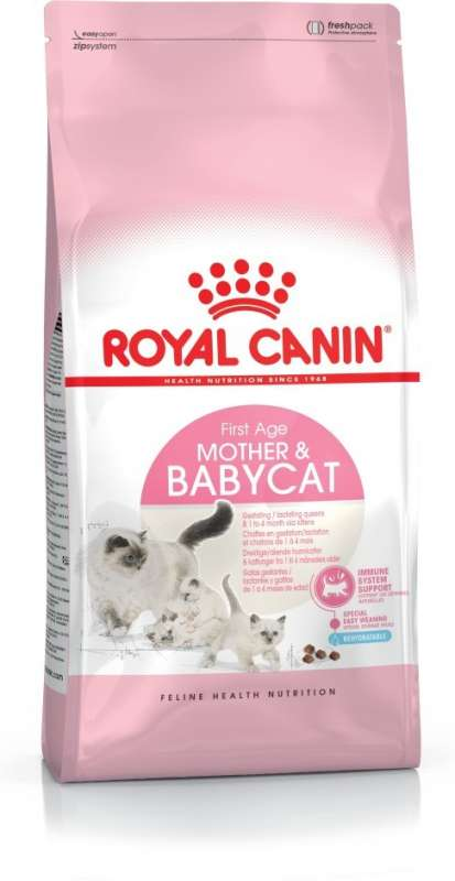 Royal Canin Feline Health Nutrition Mother & Babycat 400 g 3182550707305 erfaringer